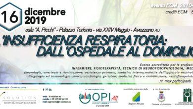 Photo of L'INSUFFICIENZA RESPIRATORIA: DALL'OSPEDALE AL DOMICILIO