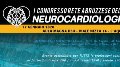 Photo of CONGRESSO RETE ABRUZZESE DELLE NEUROCARDIOLOGIE 17 gennaio 2020 – L'AQUILA