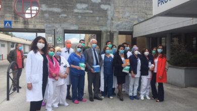 Photo of L'Aquila, 500 mascherine donate dall'OPI all'ospedale