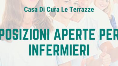 Photo of Offerta di lavoro – Casa di Cura LE TERRAZZE