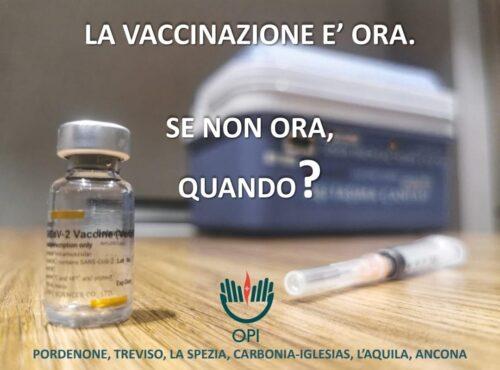 Photo of Per noi infermieri la vaccinazione è scelta di responsabilità e dovere
